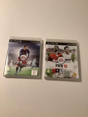 Jogos Fifa 12 e Fifa 16 para ps3