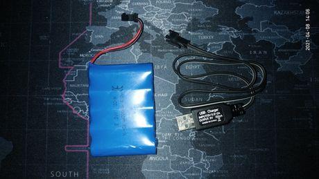 Аккумулятор Ni-Cd 6V 700mAh