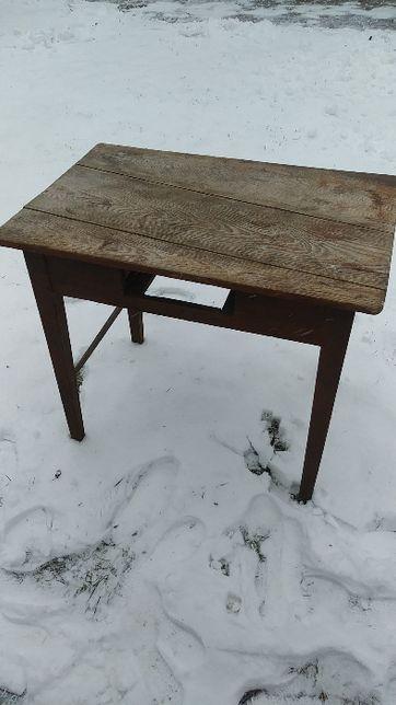 stół antyk ciemny brąz