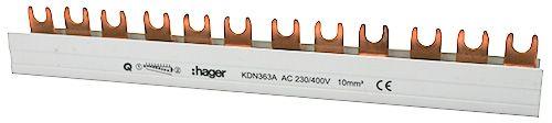 HAGER szyna łączeniowa modułowa 12M 3F KDN363A