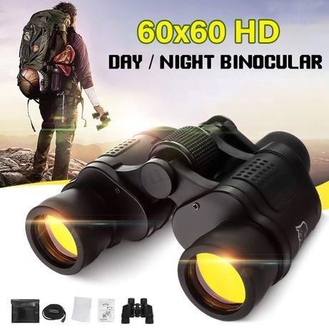 Binóculo Militar 60X60 Caça Hd Visão Noturna Zoom telescópios Compacto