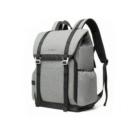 Рюкзак для фототехники, ноутбука и вещей серый. Стильный и удобный
