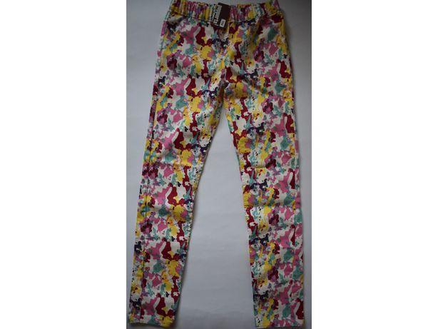 Kolorowe długie spodnie Pepperts rozm. 158, 12-13 lat