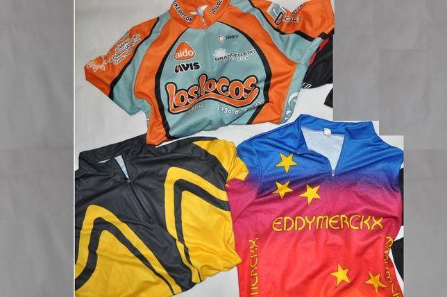Koszulki spodenki Nalini Shimano L XL rowerowe ostre koło Specialized