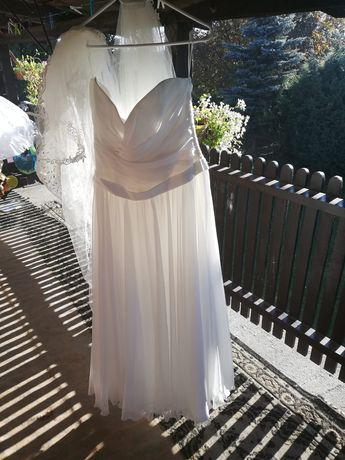 Suknia ślubna i suknia na poprawiny 42-46