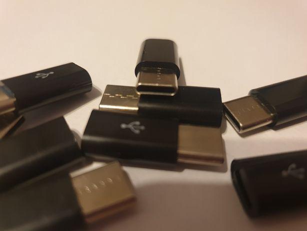 OKAZJA Przejściówka , adapter micro USB do USB typu c