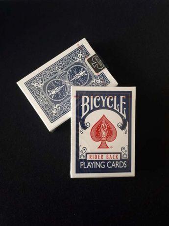 Baralhos de cartas Bicycle Novos e Selados (Rider Back Azul)