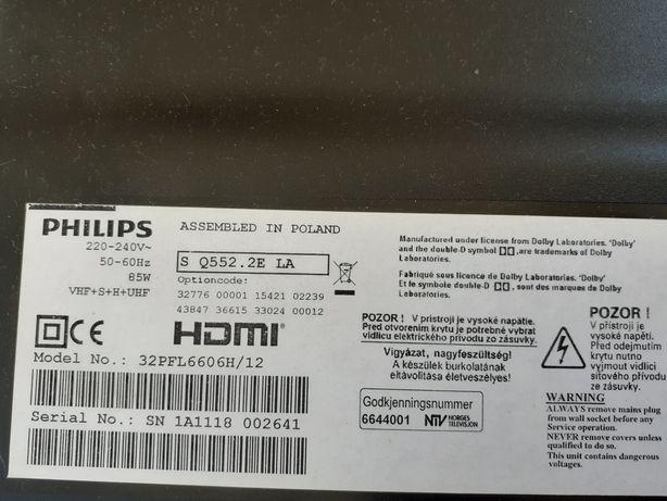 Philips 32PFL6606H/12 - para peças