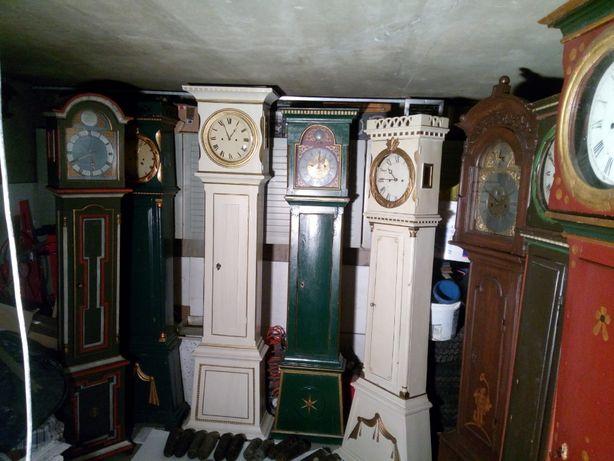 Zegar stojący zabytkowy antyczny