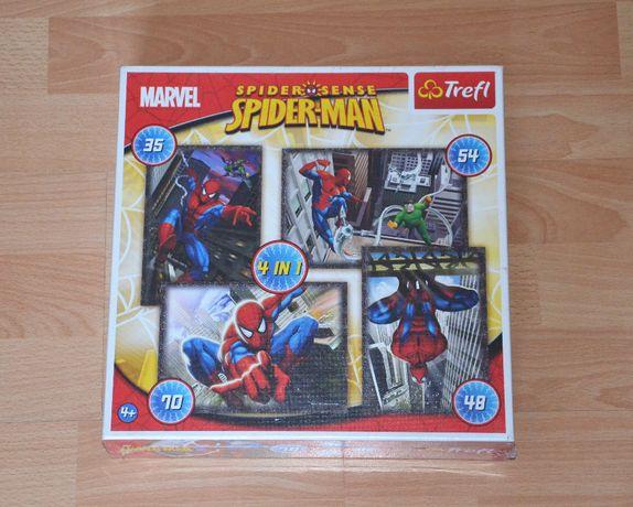 NOWE Puzzle SPIDER-MAN 4 w1 Trefl
