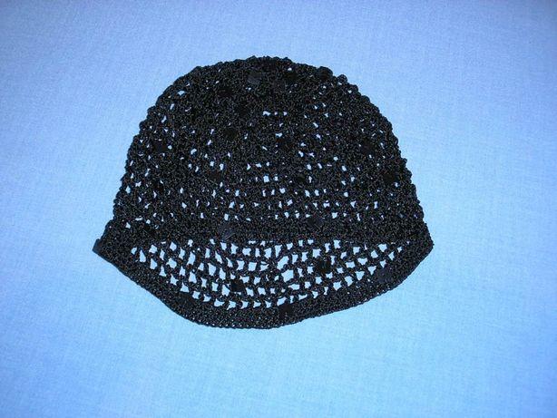 Siatka na głowę, włosy, ozdoba, beret, czapka. Bardzo ciekawa.