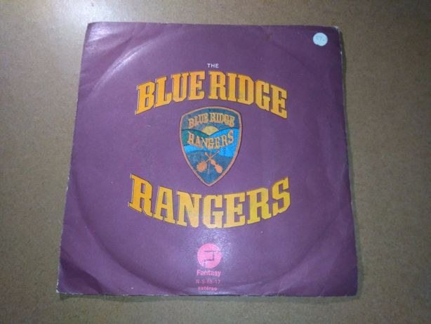 Raro vinil single The Blue Ridge Rangers de 1972