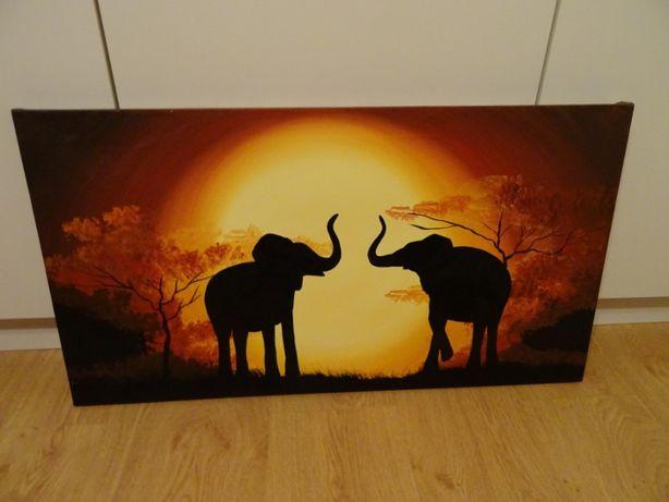 nowoczesny obraz na ścianę – safari