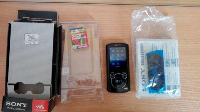 Sony E463-4 GB-Mp3,Mp4-odtwarzacz ,ponad 45 godzin pracy na baterii