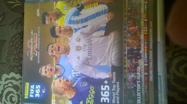 Karty panini Fifa 365