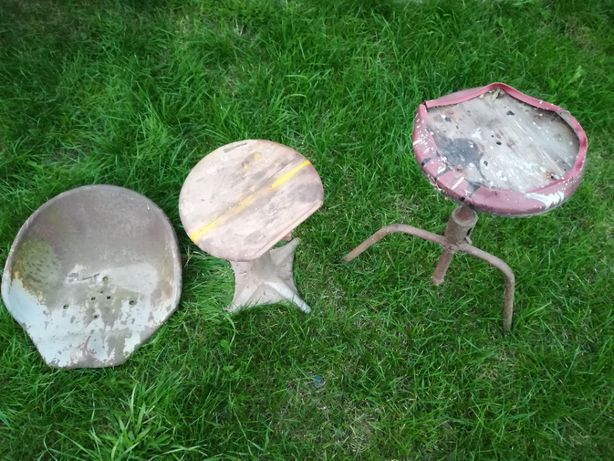 Hoker stołek w stylu loft vintage
