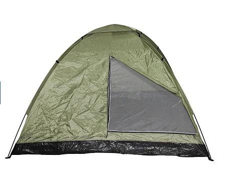 Палатка трёхместная MFH Monodom Olive 32103B