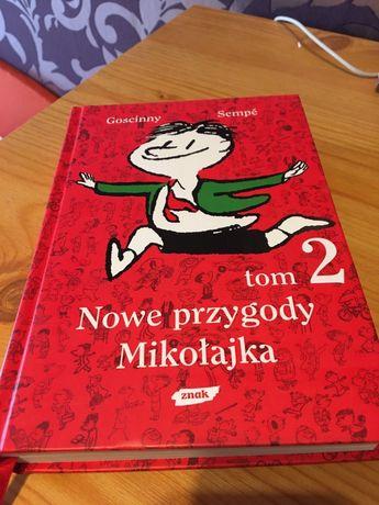 """Goscinny, Sempé """"Nowe przygody Mikołajka"""" tom. 2"""