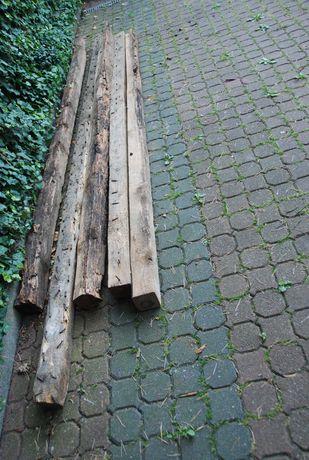 5 szt. Belki drewniane kantówki, belka drewniana za 30 zł