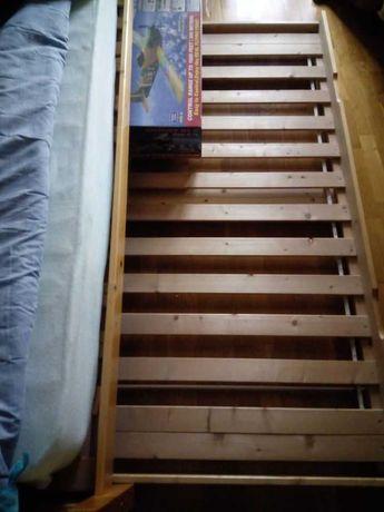 cama individual com 2 estrados