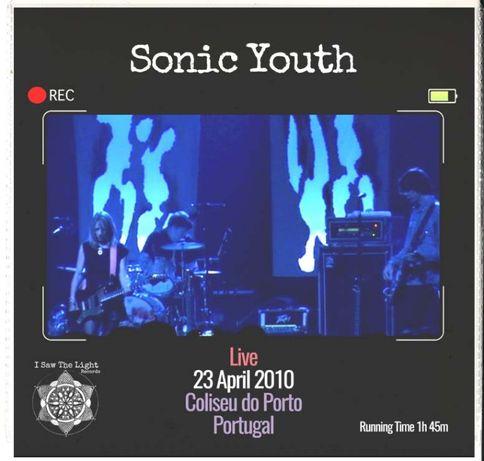 Sonic Youth - Live Coliseu do Porto (double disc) Video DVD