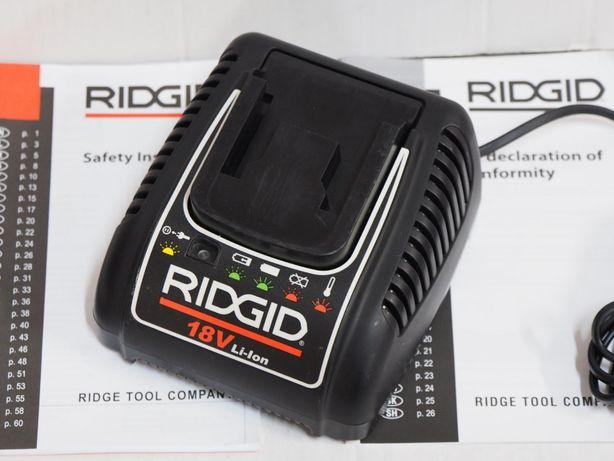 RIDGID RBC 10 ladowarka prasa zaciskarka 18v bateria LI-ION