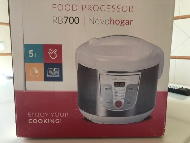Robot de Cozinha multifunções 10pessoas/5 litros