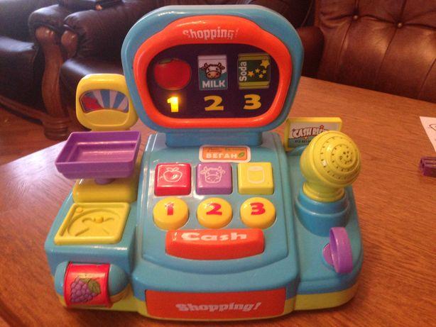 Детская игрушка-касса
