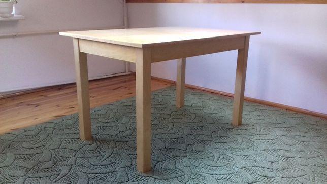 Stół drewniany - brzoza