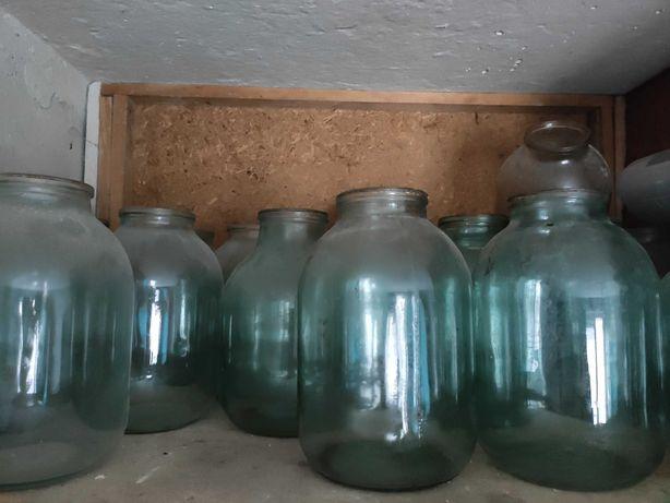 Банка бутыль 3 литра стекло