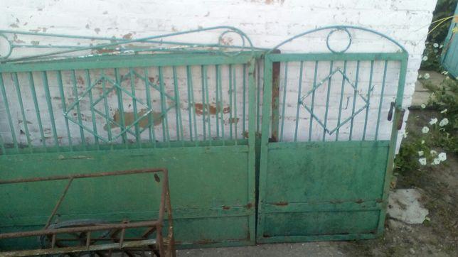 продам железные ворота и калитку