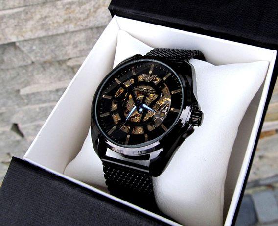 3ЦВЕТА Механические мужские наручные часы под Rolex АВТОПОДЗАВОД