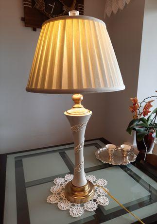 Лампа настольная Lenox QUOIZEL фарфор, латунь