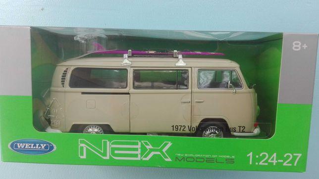 Volkswagen Bus T2 miniatura 1/24