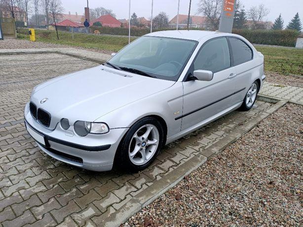 BMW E46 320TD compact 2004r 6 biegów 4x elektryczne szyby bez rdzy