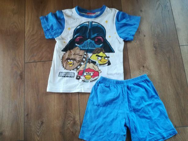 Pidżama letnia chłopięca rozm. 140 Angry Birds Star Wars