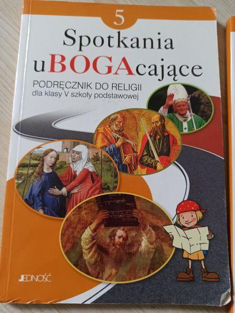Podręcznik do nauki lekcji religii plus ćwiczenia klasa 5 SP