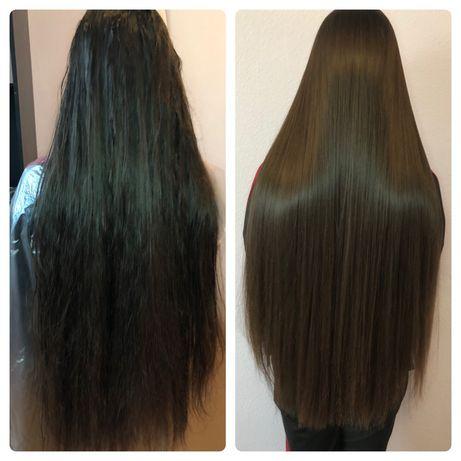 Кератиновое выпрямление, Нанопластика волос, Ботокс волос. Березняки.