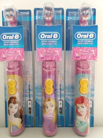 Оригінальна Електрична Зубна щітка Oral B Disney Princess зубная щетка