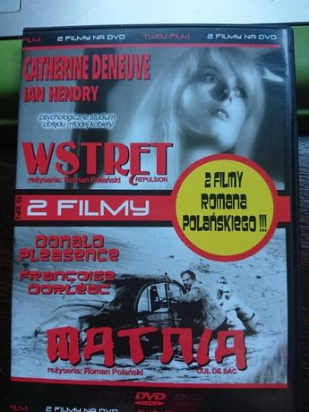 1 dvd 2 filmy - Catherine Deneuve w filmie WSTRĘT i film MATNIA