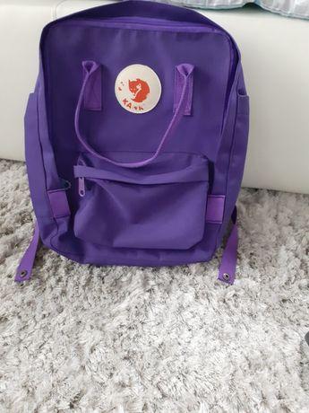 Plecak kolor fiolet