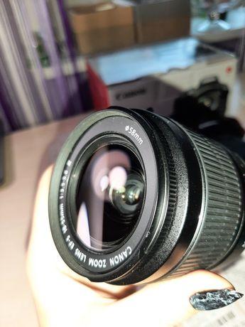 Новый объектив  canon kit 18mm 55
