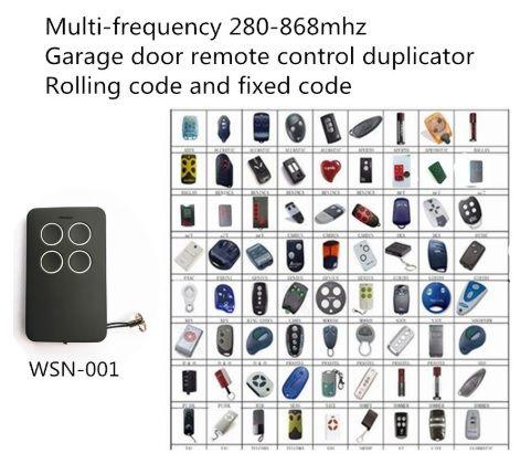 Controle remoto multi freqüência 280mhz 315mhz 433mhz 868mhz