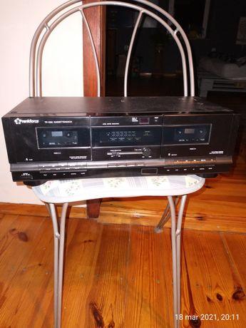 Magnetofon dwu kasetowy