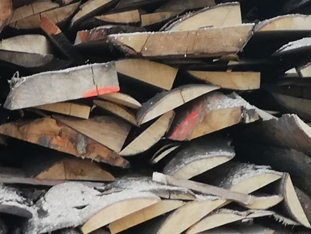Zrzyny tartaczne dębowe grube Tanio Okazja