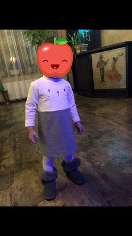 Продам нарядное стильное платье Chicco