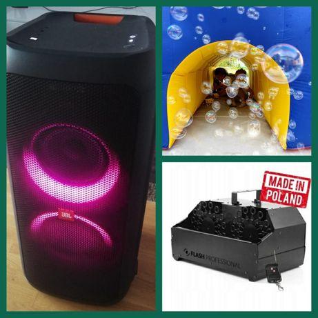 Głośnik JBL, karaoke, maszyna, wytwornica do baniek, WYNAJEM