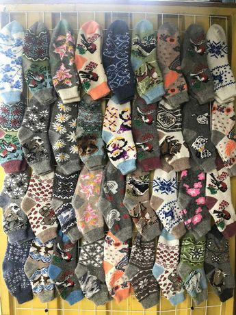 Носки чоловічі жіночі зимові