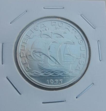 MOEDA Antiga de 10$00 de 1955