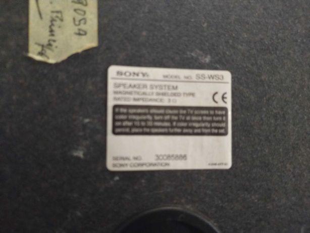 Leitor de DVD SONY com sistema surround